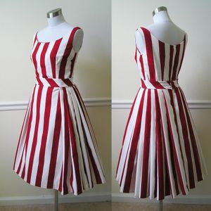 Stripeddressred
