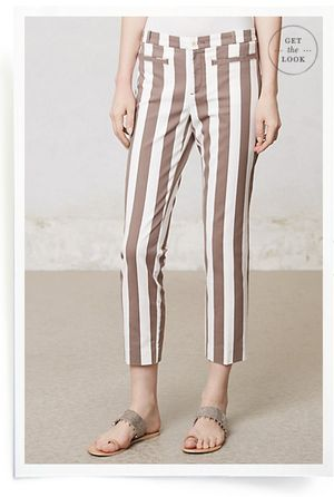 Striped pants 1